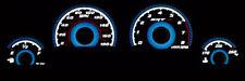 06-10 Dodge Charger/ 08-14 Challenger Blue Glow Gauges Srt8 Srt-8 180Mph Overlay