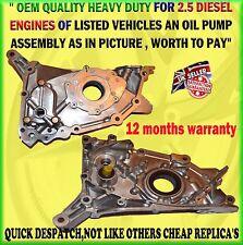 FOR MITSUBISHI SHOGUN SPORT / L200 2.5TD ENGINE CRANK SHAFT OIL PUMP SENSOR TYPE
