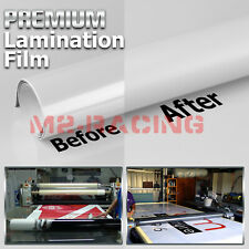 24x60 Cold Laminating Film Matte Clear Monomeric Lamination Poster Sign Decal