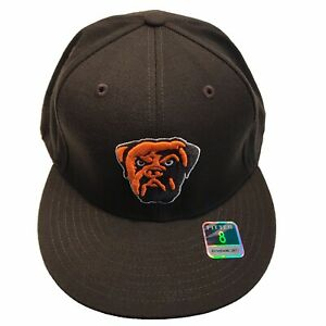 Cleveland Browns Reebok Dog Pound Swagger Flat Bill Size 8 Fitted Cap Hat $25