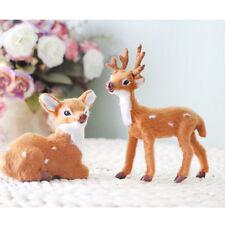 Blesiya Deer Ornament Resin Miniature Bonsai DIY Terrarium Home Decorative
