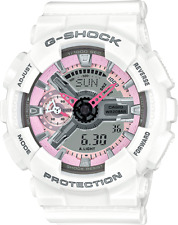 Casio G-Shock GMAS110MP-7A White and Pink Watch New With Tags
