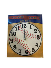 All-Star Decor Baseball Wall Clock