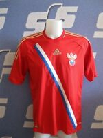 5+/5 Russia national team 2013/2014 Home Size L football shirt jersey Adidas