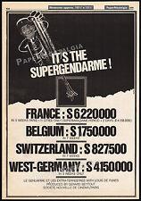 Le gendarme et les extra-terrestres__Orig. 1979 Trade AD_poster__LOUIS DE FUNES