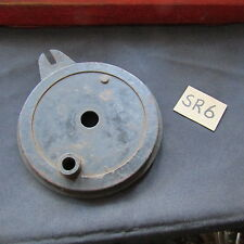 """AJS MATCHLESS RIGID 6""""  BRAKE PLATE & PARTS VINTAGE MOTORCYCLE"""