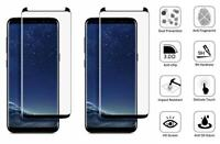2x For Samsung Galaxy S8 S9 Plus S10 Note 8 9 Screen Protector Tempered Glass