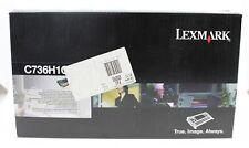 Lexmark 0C736H1CG Toner Cyan Cartouche de Toner pour C736,X736,X738