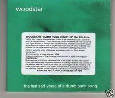 (A327) Woodstar, Dumb Punk Song EP - DJ CD