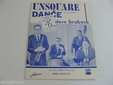 Unsquare Dance 1962  sheet music for ORGAN Dave Brubeck