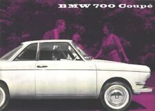 1960s BMW 700 Coupe Sales Brochure