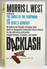 BACKLASH Morris West rare 1964 vintage PB edition nr