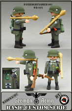 PANZERGRENADIER GERMAN SOLDIER SOLDADO ALEMAN PLAYMOBIL CUSTOM WW2 EJERCITO ARMY