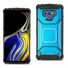 Samsung Galaxy Note 9 Metallic Front Cover Case In Blue