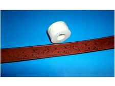 """HORSES & FLORAL Leather Emboss Roll 1 1/4"""" Wide"""
