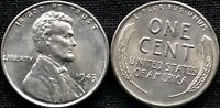 USA 1943 Lincoln Steel Cent BU UNC UNZIRKULIERT US Wheat Penny Prägefrisch
