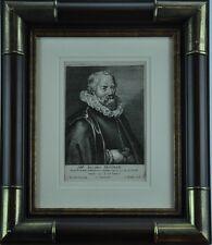 17th Century Iacobus  Matham engraving by Antony van der Does. (BI#MK/TMP)