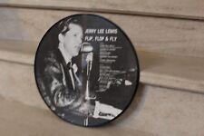 jerry lee lewis / flip, flop, fly  (picture disque, 1984)  AR30024