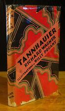 TANNHAUSER (1920) DRAMATIC POEM BY RICHARD WAGNER, WILLY POGANY, Wm. Godwin 1ST
