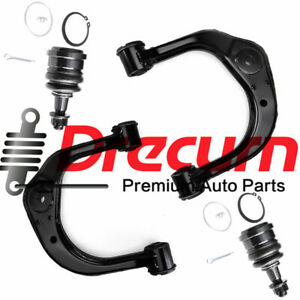 4PC Front Upper Control Arm Ball Joint SET For Toyota Tacoma 4Runner 4WD RWD