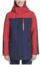 Tommy Hilfiger Womens 3-in-1 Winter Jacket - Crimson/Navy...