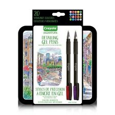 Crayola Signature Detailing Gel Pens 20ct