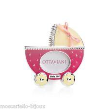 Cornice portafoto OTTAVIANI passeggino culla fucsia rosa Baby bimba neonata