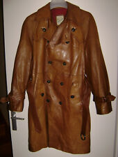 Manteau long Mc Douglas en peau vintage homme