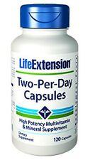 LIFE EXTENSION, TWO-PER-DAY Multi-Vitamin - 120 Capsules