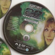Star Trek (DVD) The Next Generation 20th Anniversary Season 7 Disc 6 Replacement