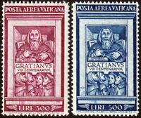 Vaticano - 1951 - Graziano - serie completa nuova - MNH - Sassone nn.20/21