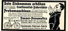 Continental-Fahrrad-Fabrik Hermann Prenzlau Hamburg Ad 1902