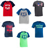 New Under Armour Boy's Graphic Print Athletic Shirt SIZE 2T,4,,5,6 MSRP:$18.00