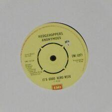"HEDGEHOPPERS ANONYMOUS 'IT'S GOOD NEWS WEEK' UK 7"" SINGLE"
