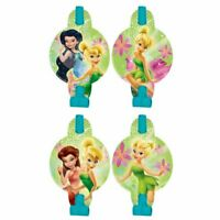 TINKER BELL Blowouts Pack of 8 Party Favours Loot Bag Birthday