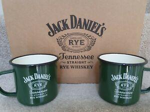 Official Jack Daniels Whiskey Enamal Mug Cup