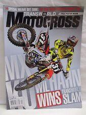 Transworld Motocross Magazine December 2010 with Poster Olivia & Brett Metcalfe