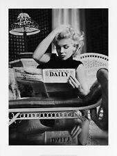 Poster Kunstdruck MARILYN MONROE MOTION PICTURE Ed Feingersh Fotografie Bild