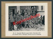 Udine place du marché landser prisonniers italiens Alpes Corps 12. ISONZO bataille 1917
