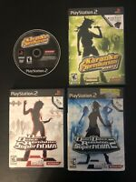 PS2 PlayStation Lot of 4 Dance Dance Revolution Supernova, Supernova 2, Karaoke