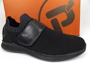 Propet Travelbound Strap WAA133M Walking Shoe Womens SZ 11  WIDE Black NEW 19576