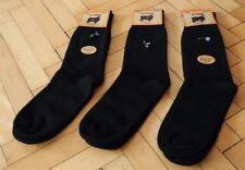 Turkish Pure Naturel Merino Wool Black Casual Men Socks- 3 Pairs Pack *Winter*