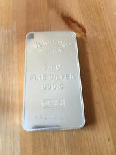 1 Kg Valcambi Suisse Silver Bar .999 Rare investment Kilo Oz bullion