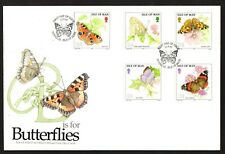 Isle of Man 1993 Butterflies First Day Cover