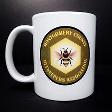 Montgomery County Beekeepers Association Coffee Cup Ceramic Tea Mug Bee Honey