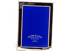 "SILVER PLATED 4 X 6 "" (10 x 15cm) Tarnish resistente singola FOTO FRAME - 235s01"