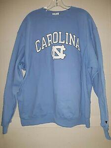 North Carolina Tar Heels NCAA  Men's Blue Sweatshirt,  XL