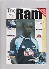 Derby County v Bradford City Programme  15-03-2003