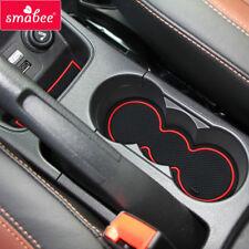 for Ford Fiesta MK VI 2008-2015 Gate slot mats Accessories,3D Rubber Mat 10pcs