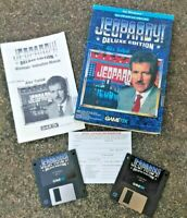 Retro Jeopardy Deluxe Edition Windows 3.11 Ms-dos With Usb Floppy 1994 Gametek